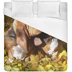 2 Bassets Duvet Cover (King Size)