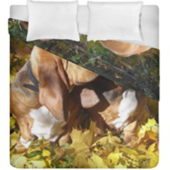 2 Bassets Duvet Cover Double Side (King Size)