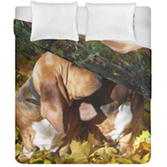 2 Bassets Duvet Cover Double Side (California King Size)