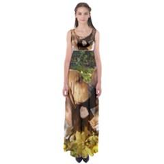 2 Bassets Empire Waist Maxi Dress