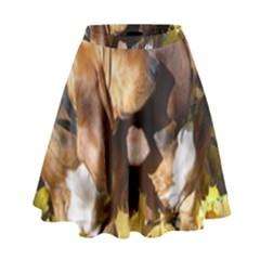 2 Bassets High Waist Skirt