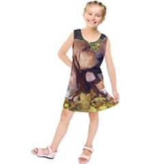 2 Bassets Kids  Tunic Dress