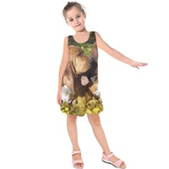 2 Bassets Kids  Sleeveless Dress