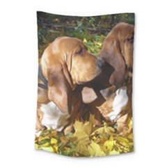 2 Bassets Small Tapestry