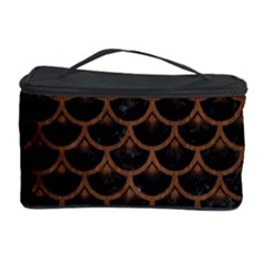 SCA3 BK-MRBL BR-WOOD Cosmetic Storage Case