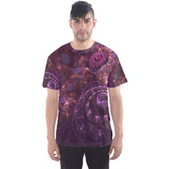 Buried Pirate Treasure of Fractal Pearls and Coins Men s Sports Mesh Tee