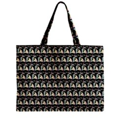 Colorful Pop Art Monkey Pattern Zipper Mini Tote Bag