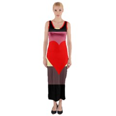 Fat Fetish Fitted Maxi Dress