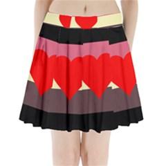 Fat Fetish Pleated Mini Skirt