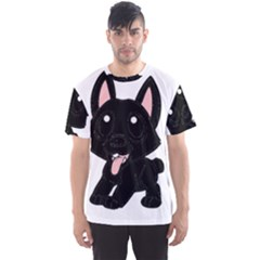 Cane Corso Cartoon Men s Sports Mesh Tee