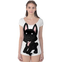Cane Corso Cartoon Boyleg Leotard