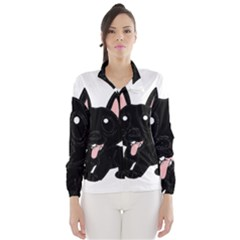 Cane Corso Cartoon Wind Breaker (women)