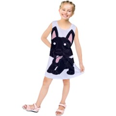 Cane Corso Cartoon Kids  Tunic Dress