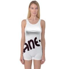 Cane Corso Mashup One Piece Boyleg Swimsuit