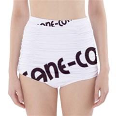 Cane Corso Mashup High Waisted Bikini Bottoms