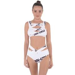 Cane Corso Mashup Bandaged Up Bikini Set