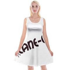 Cane Corso Mashup Reversible Velvet Sleeveless Dress