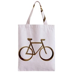 Elegant Gold Look Bicycle Cycling  Classic Tote Bag