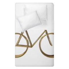 Elegant Gold Look Bicycle Cycling  Duvet Cover Double Side (single Size)