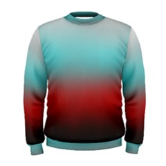 Frosted Blue And Red Men s Sweatshirt