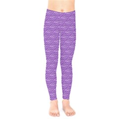 Purple Scales Kids  Legging