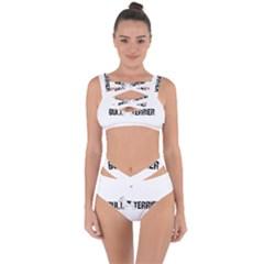 Bull Terrier  Bandaged Up Bikini Set
