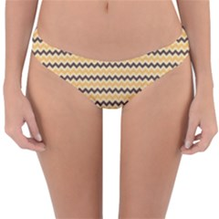 Colored Zig Zag Reversible Hipster Bikini Bottoms