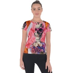 Bride From Hell Short Sleeve Sports Top