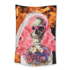 Bride From Hell Small Tapestry