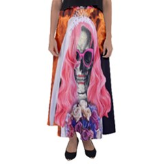 Bride From Hell Flared Maxi Skirt
