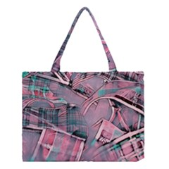 Another Modern Moment Pink Medium Tote Bag
