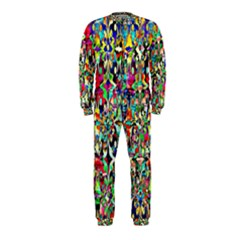 Psychedelic Background Onepiece Jumpsuit (kids)