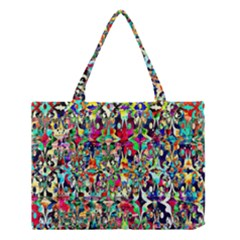 Psychedelic Background Medium Tote Bag