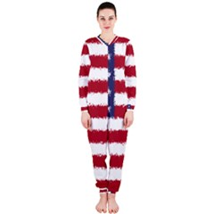 Flag Of The United States America Onepiece Jumpsuit (ladies)