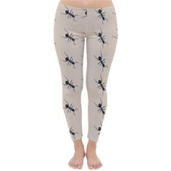 Ants Pattern Classic Winter Leggings