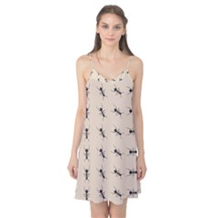 Ants Pattern Camis Nightgown