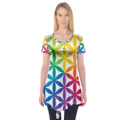 Heart Energy Medicine Short Sleeve Tunic
