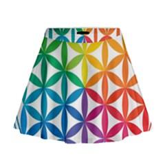 Heart Energy Medicine Mini Flare Skirt