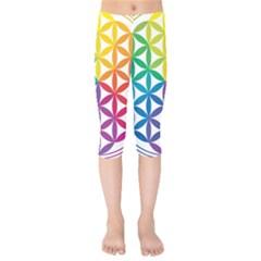 Heart Energy Medicine Kids  Capri Leggings