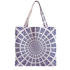Illustration Binary Null One Figure Abstract Grocery Tote Bag