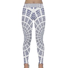 Illustration Binary Null One Figure Abstract Classic Yoga Leggings