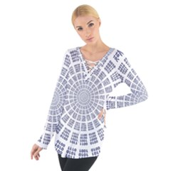 Illustration Binary Null One Figure Abstract Tie Up Tee