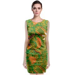 Art Batik The Traditional Fabric Classic Sleeveless Midi Dress