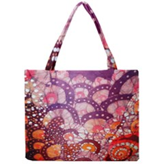 Colorful Art Traditional Batik Pattern Mini Tote Bag