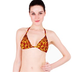 Abstract Pattern Bikini Top