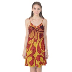 Abstract Pattern Camis Nightgown