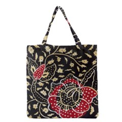 Art Batik Pattern Grocery Tote Bag