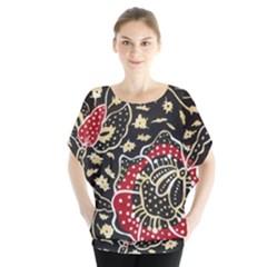 Art Batik Pattern Blouse