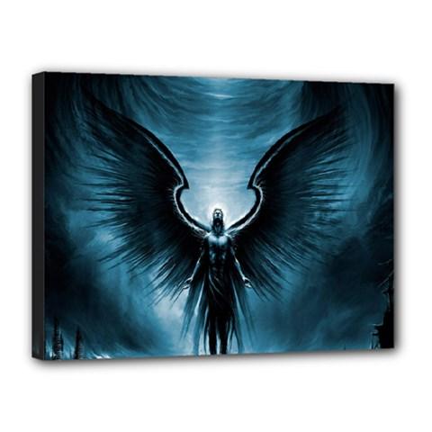 Rising Angel Fantasy Canvas 16  X 12
