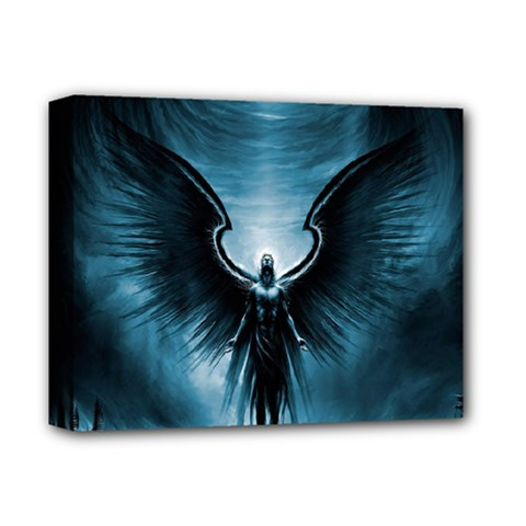 Rising Angel Fantasy Deluxe Canvas 14  X 11